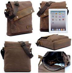 $27.89 (Buy here: https://alitems.com/g/1e8d114494ebda23ff8b16525dc3e8/?i=5&ulp=https%3A%2F%2Fwww.aliexpress.com%2Fitem%2F2016-Men-s-Vintage-bags-Canvas-Hand-bag-Men-Business-Crossbody-Bag-Leather-Satchel-School-Military%2F32716412715.html ) 2016 Men's Vintage Canvas Hand bag Men Business Crossbody Leather Satchel School Military Shoulder Bag Messenger for just $27.89