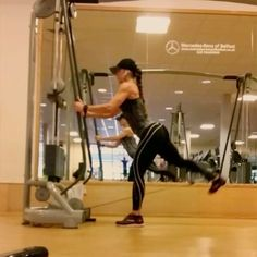 """More from the """"Dirty Thirties"""" Series!  10 Lateral Kicks 10 Kickbacks (Tucking the knee in)  10 Leaning Kickbacks (upper Body parallel to the floor for more ROM)  This is Great finisher for glutes ✅✅IF YOU ARE LOOKING FOR MORE GLUTES EXERCISE,  FITNESS TIPS AND FULL WORKOUT ROUTINES  GO TO : WWW.NATHALIAMELOFIT.COM ✅✅ Outfit by @officialbetterbodies  Sipping on #QueenFit Pre Workout from @olimp_sport_nutrition  #MeloMafia #teambetterbodies #TeamOlimp"""