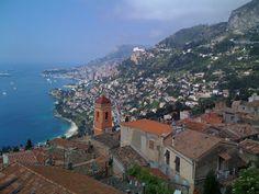 France - Roquebrune Cap Martin - Monte Carlo