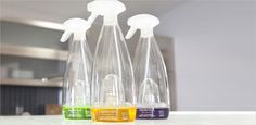 Consumer Product Packaging Design | Replenish Cleaning System| Radius Product Development