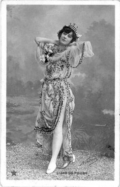 Liane de Pougy, born Anne Marie Chassaigne, one of Paris's most beautiful and notorious courtesans and wife (in her 2nd marriage) of the Romanian prince George Ghica