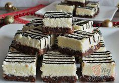Ledové kry - kokosové kostky nepečené | NejRecept.cz Luxury Food, Hungarian Recipes, Creative Food, Cake Cookies, Coco, Tiramisu, Biscuits, Cheesecake, Deserts