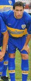 Christian Gimenez.Campeón con Boca Juniors en Torneo Apertura 1998,Torneo Clausura 1999,Copa Libertadores de América 2000 y Copa Libertadores de América 2001.