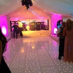Stunning white dance floor £499 08452 601 106