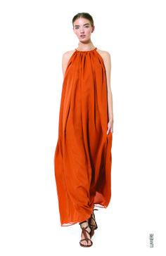 Heidi Merrick Spring 2014 Silk dress