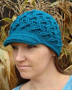 Traxx Hat by Shannon Kilmartin- Ravelry