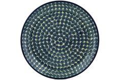 Polish Pottery 13-inch Platter | Boleslawiec Stoneware | Polmedia H3009H