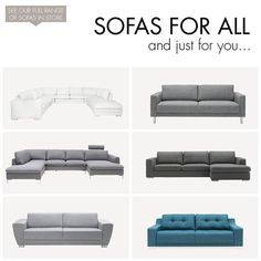 At IDdesign we have sofas for all - and just for you! Here you will find a small selection of our sofas - visit your local IDdesign store to see our full collection or check out our catalogue smile emoticon