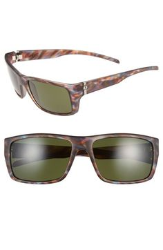 Women's ELECTRIC 'Sixer' 60mm Sporty Sunglasses - Mason Tiger/ Grey