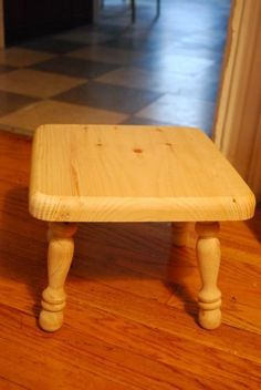How To Upholster a Simple Stool | Apartment Therapy