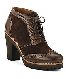 oxford booties.