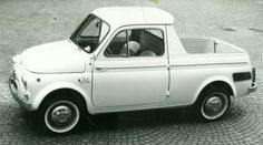 It's a 500mino! (1962 Fiat 500 Ziba, styled by Ghia)