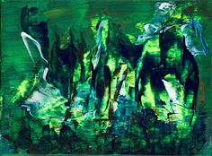 Lore Havemann – Google+ Farbstudie --grün Acrylic, Art, Farben, Paintings, Unikate Acrylic Art, Creative, Paintings, Beautiful, Google, Abstract, Colors, Nice Asses, Paint