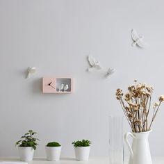 WIZWID:위즈위드 - [HAOSHI:하오스]Sparrow X Clock (핑크)
