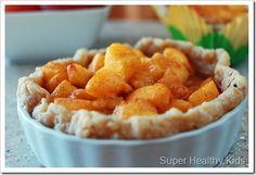 Healthy Peachilicious Pie!