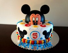 Mickey Mouse Cake - Cake by cakesbg
