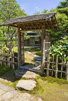 - Millions of Creative Stock Photos, Vectors, Videos and Music Files For Your Inspiration and Projects. 10 Beautiful DIY Japanese Garden Projects You Can Build To Add Beauty To Your Landscape Garden Entrance, Entrance Gates, Garden Gates, Farm Entrance, Small Entrance, Entrance Ideas, Pergola Garden, Backyard Fences, Backyard Landscaping
