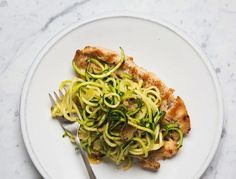 This is so good we happily chow down on it even when we're not detoxing. These noodles would be yummy on their own or with any other protein as well (i.e., grilled salmon).