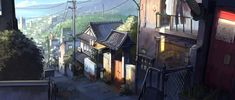 Ryoma street - Kyushu by alantsuei.deviantart.com on @deviantART