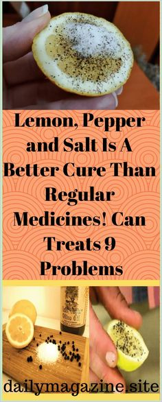 Lemon, Pepper and Salt Is a Better Cure Than Regular Medicines! Can Treats 9 Problems Healthy Carbs, Healthy Liver, Healthy Eating Tips, How To Stay Healthy, Keeping Healthy, Healthy Snacks, Liver Diet, Healthy Brain, Eating Habits