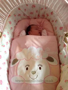 """Little Esmae is a Bundle of Joy!!! Born on 9th April, mum Donna says that """"She absolutely loves her nap mat!!!"""" She looks so cute and comfy! :-)"""