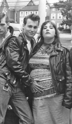 """Johnny Depp and Ricky Lake, in """"Cry Baby""""."""
