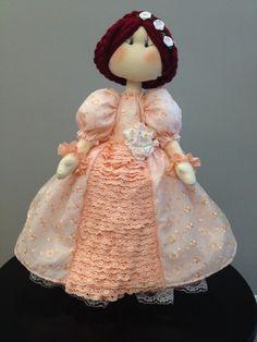 Mary - Boneca de pano  www.lojamarca.com.br