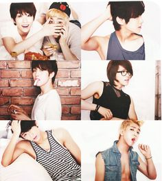 UMMM..Can They NOT do this! My feels are..aigoo.. i think i'm going crazy Sandeul, CNU, Baro, JinYoung, Gongchan, B1A4http