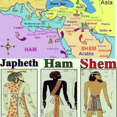 Noah's sons went forth. The bible ends this story with Ham having an attitude. Maybe to maintain 'the Cain effect' (dark side) on humanity.