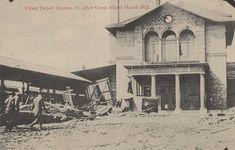 Dayton Ohio, Union Station, Water, History, Model, Gripe Water, Historia, Scale Model