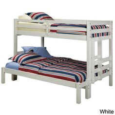 Napoli Twin Over Full Bunk Bed | Overstock.com Shopping   The Best Deals On