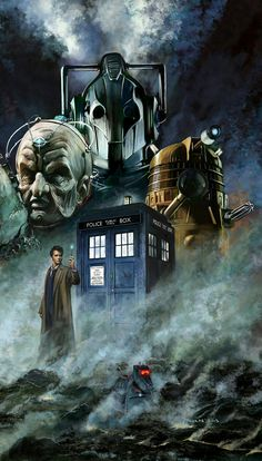 DOCTOR 10 'FAMOUS MONSTERS'.