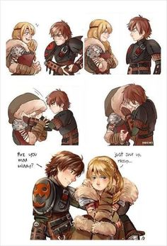 Save Pin :) Spread Love :) HOW TO TRAIN YOUR DRAGON Httyd Dragons, Dreamworks Dragons, Disney And Dreamworks, How To Train Dragon, How To Train Your, Cute Disney, Disney Art, Anime Couples, Cute Couples