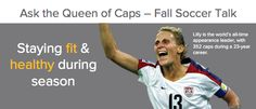 Get your questions ready to go for this Friday! Kristine Lilly will be answering your questions on the Korrio Facebook page --> what's on your mind this fall soccer season? Read more here: http://ow.ly/dBFCA