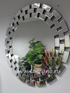 Зеркало интерьерное, арт. 8006, размер 90см х 90см - Тамано.ру