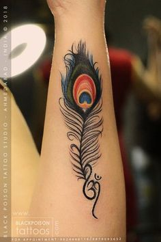 Ideas bird tattoo color peacock feathers for 2019 Peacock Feather Tattoo, Feather Tattoo Design, Tattoo Designs Wrist, Feather Tattoos, Body Art Tattoos, Small Tattoos, Tattoo Bird, Peacock Feathers, God Tattoos