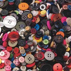 Craft Buttons 1-lb. Bag