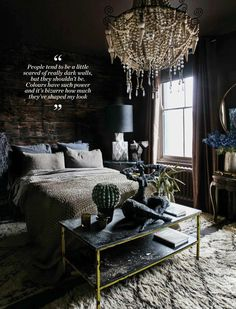 Abigail Ahern interiors, design and decor inspiration Cozy Bedroom, Decor, Interior Design, Bedroom Decor, Decor Inspiration, Elle Decor, Interior, Bedroom Design, Home Decor