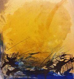 Abstracción57 - Painting ©2012 by Lola Castillejo Ribera -