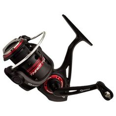 "Throttle Spinning Reel - Size: 10, 5.3:1 Gear Ratio, 27"" Retrieve Rate, 11 Bearings, Left Hand, Boxed"