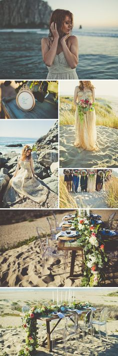 Love mermaids? Love The Little Mermaid? You'll definitely love our edit of Disney wedding dresses then, as well as this amazing Little Mermaid inspired styled shoot, which shows how to pull off a mermaid themed wedding in a timeless and elegant way. We love the bride's golden dress.  Photography by Sarah Kathleen