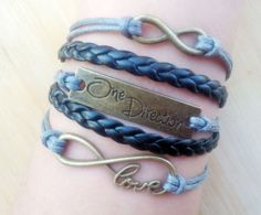 love  bracelet  one direction   Bracelet   by thejewelrybracelet, $5.99