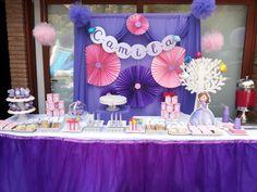 princesa sofia mesa de dulces - Buscar con Google