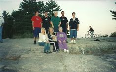 Our family tradition was camping at Kilbear Park, north of Parry Sound. The young man in the red shirt is another nephew who's name is Mike.