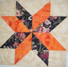 Cool star block from Linda Baker