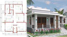 Simple 3 Floor House Design With Terrace Small house plan with simple floor layouts. Design plans simple house plans with 3 bedrooms house plans with 3 bedrooms sam house plans idea formulas . House Layout Plans, Bedroom House Plans, Dream House Plans, House Layouts, Small House Plans, Simple House Design, Modern House Design, Photo 3d, 2 Storey House Design