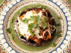 Turkey and Chorizo Stuffed Portabella Mushrooms - Betty Crocker