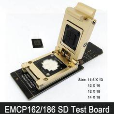 eMMC186 eMMC162 Test Socket Adapters FBGA186 FBGA162 SD eMMC IC Test Socket http://www.obd2cartool.com/emmc186-emmc162-test-socket-adapters-fbga186-fbga162-sd-emmc-ic-test-socket-p-881