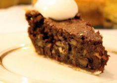 Golose dolcezze: Torta di noci e cioccolato