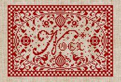 Noel Pillow Pattern  PDF Pattern by modernfolk on Etsy, $6.00